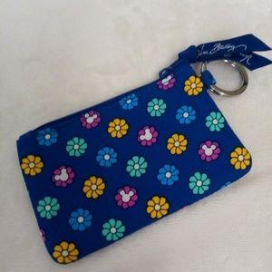NWOT Disney Mickey zip ID case mini wallet